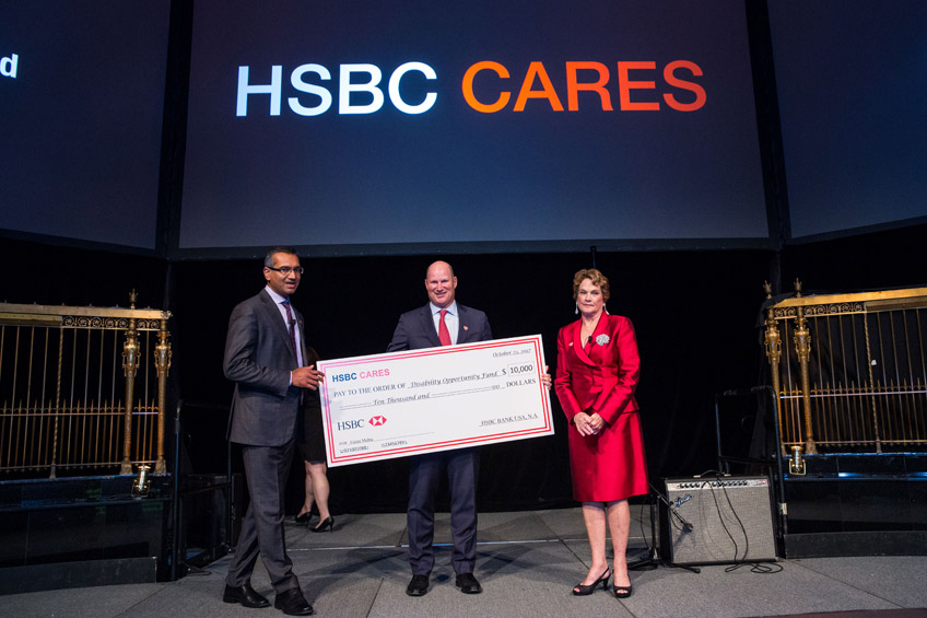DOF Honored at HSBC Cares – The Disability Opportunity Fund